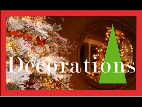Christmas Tree - Christmas Decorations and Christmas Decorating Ideas - YouTube & Christmas Tree - Christmas Decorations and Christmas Decorating ...