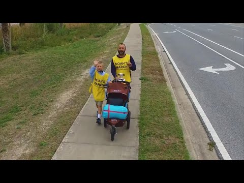 11-Year-Old Boy with Diabetes Walks Across Country to Find a Cure