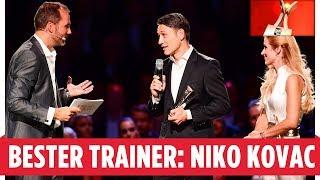 Dafür würde Niko Kovac den Pokal-Titel eintauschen I Trainer des Jahres I SPORT BILD AWARD 2018
