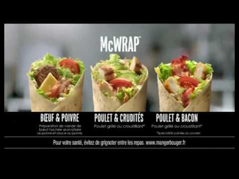 TheKairi78 présente la pub du wrap poulet bacon de McDonald's