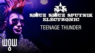Whitby Goth Weekend - Sigue Sigue Sputnik Electronic - 'Teenage Thunder' Live