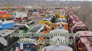 TOP 5 Old Abandoned Steam Trains & Locomotives Graveyards in USA & Germany