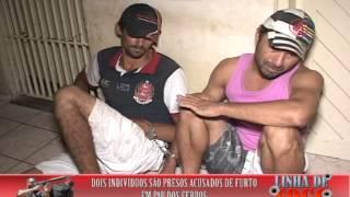 Dois indivíduos são presos acusados de furto em Pau dos Ferros
