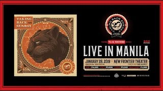TAKING BACK SUNDAY LIVE IN MANILA 20th ANNIVERSARY TOUR
