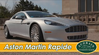 LENO and OSBORNE in The Ultra Beautiful Aston Martin Rapide
