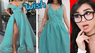 Trying Cheap Prom Dresses From WISH