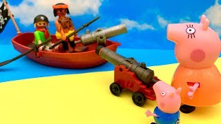 Świnka Peppa i Piraci  Bajka dla dzieci po Polsku