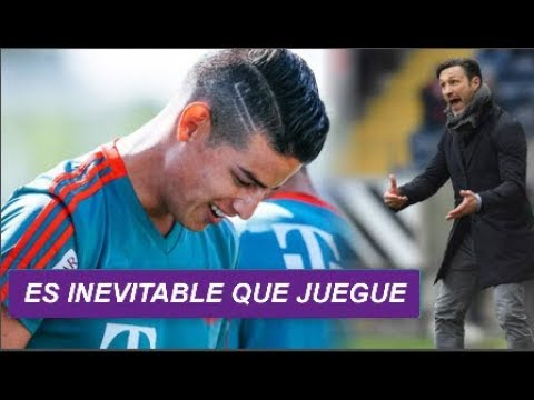 ES INEVITABLE que JAMES RODRIGUEZ JUEGUE con el  BAYERN MUNICH