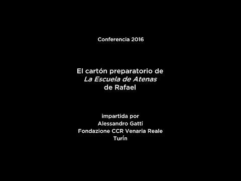Conferencia: El cartón preparatorio de La Escuela de Atenas de Rafael (V.O. italiano)