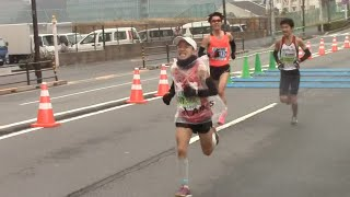 2015.2.22 東京マラソン 86位 70008 猫 ひろし (CAM) PUMAランニングクラブ...