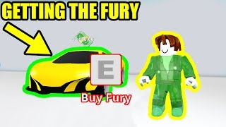 Getting the NEW 3 MILLION FASTEST CAR FURY | Roblox Mad City New Update