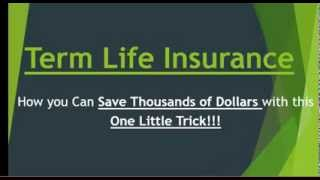 Term Life Insurance - Cheapest Term Life Insurance