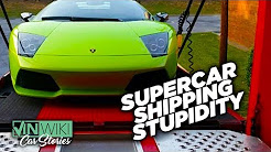 How hard is it to ship an exotic car across the country?