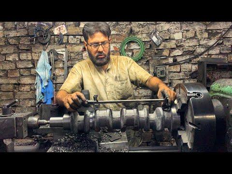 Production of Crankshafts in Factory Complete Process || Machining 3 Cylinder Engine Crankshaft