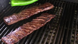 Grilled Skirt Steak With Gorgonzola Cream Sauce Recipe