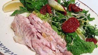 Рецепт прекрасного ужина: Солнечный окунь запеченный в соли