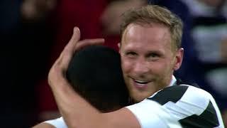 Il gol di Howedes - Juventus - Sampdoria 3-0 - Giornata 32 - Serie A TIM 2017/18