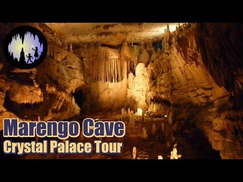 Marengo Cave Crystal Palace Tour Full Video Marengo Indiana U.S. National Natural Landmark