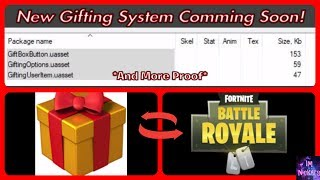 New Gifting System Coming Soon! *LEAKED* | Fortnite Battle Royale