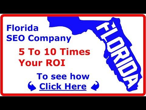 Miami Florida SEO Company That Gets You 5 to 10 Times ROI (rated #1 SEO companies Florida, FL)