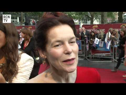 Chariots of Fire Alice Krige Interview - Great British Premiere