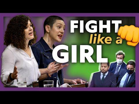Las mujeres de Unidas Podemos pulverizan el machismo de VOX en la #MociónDeCensura 💥 👊