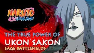 Naruto Online | the True Power of Ukon Sakon | Sage Battlefields