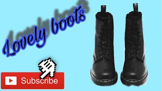 #USA #Boots drawing for kids| Drawing page |របៀបគូររូប
