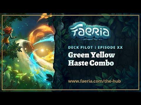Faeria Deck Pilot - Episode 20 - Green Yellow Haste Combo