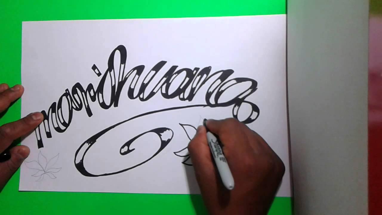 \u0026quot;Marihuana\u0026quot; graffiti !!