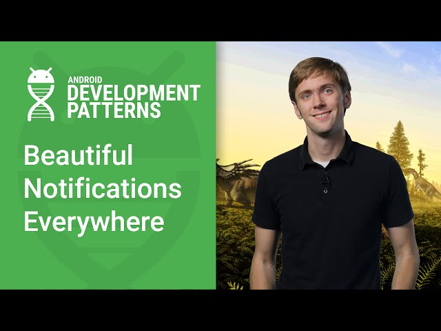 Using NotificationCompat for Beautiful Notifications (Android Development Patterns Ep 2)