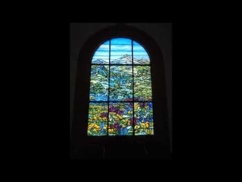 Stained Glass Windows At Woodlawn Cemetery - Santa Monica