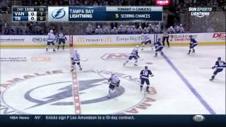 Vancouver Canucks vs. Tampa Bay Lightning 20.01.2015