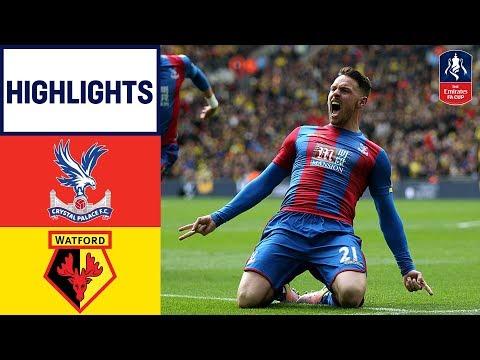 Crystal Palace 2-1 Watford - Emirates FA Cup 2015/16 (Semi-Final) | Goals & Highlights