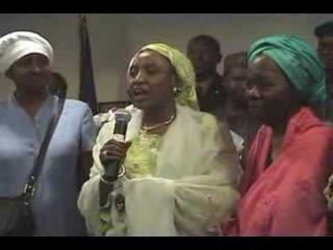 The First Lady of Nigeria Visits Harlem