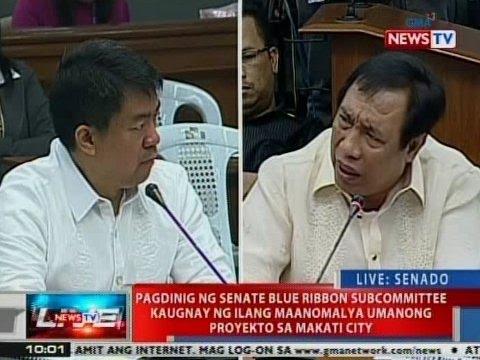 NTVL: Pagdinig kaugnay ng ilang maanomalya umanong proyekto sa Makati City