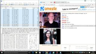 Anonymous Trolling on omegle (IP TRACKER)