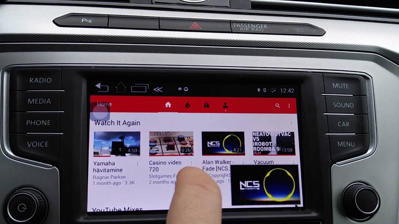 VW PASSAT B8 MIB2 Android upgrade