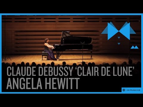 "Claude Debussy ""Clair de lune"" by Angela Hewitt"