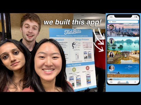 Presenting our iPhone App Final Project! | Stanford Computer Science