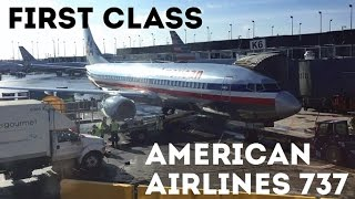american airlines first class boeing 737 800 ord lax