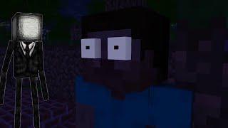 Slenderman In Minecraft