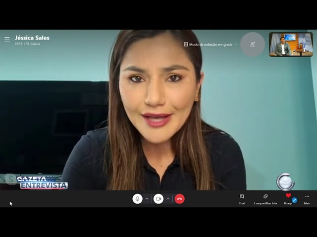 2° Bloco: Gazeta Entrevista com Jéssica Sales (MDB)