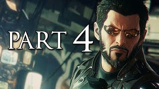 Deus Ex Mankind Divided Part 4 Stealth Pacifist Walkthrough No Commentary [1440p 60FPS PC ULTRA]