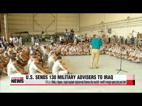 U.S. sends 130 military personnel to Iraq