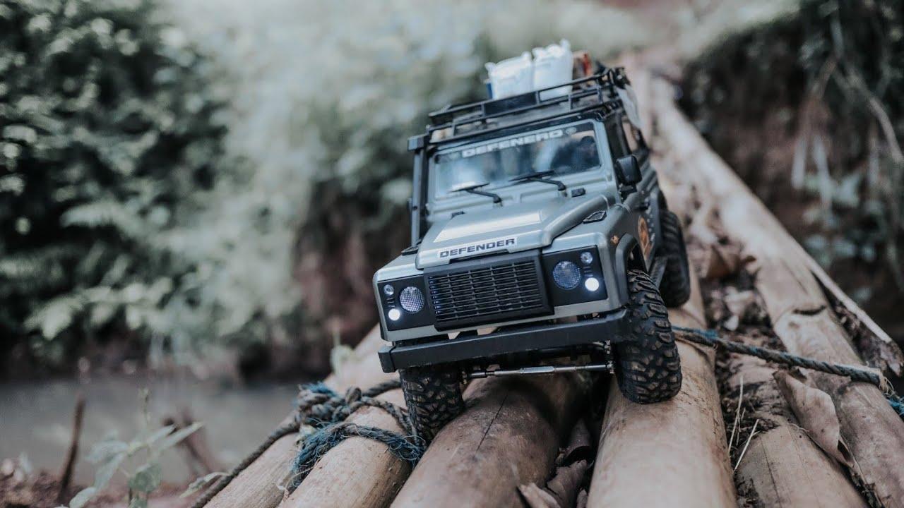 RC Adventures - Land Rover DEFENDER CAMEL TROPHY Off Road