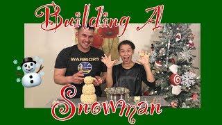 Making An Edible Snowman | Vlogmas Day 10