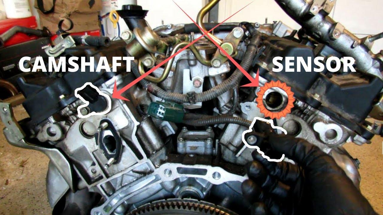 infiniti g35 nissan 350z camshaft position sensor replacement 2003 350z engine diagram  [ 1280 x 720 Pixel ]