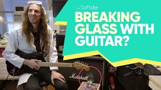 Can Kim Break Glass With a Guitar? - Softube
