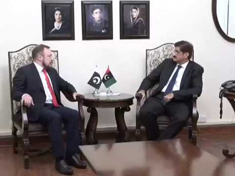 Consul General of Russia called on Sindh Chief Minister